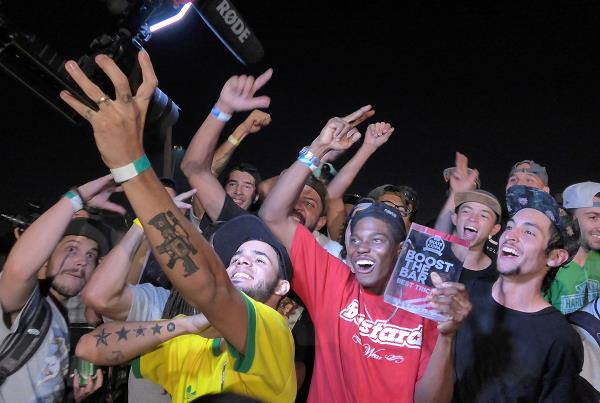 Boost Winner at adidas Skate Copa at Sao Paulo