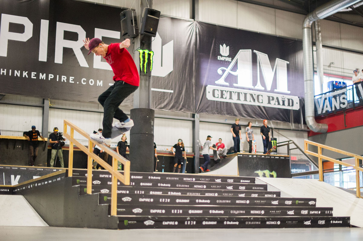 Front Crook at The Boardr Am at Montreal