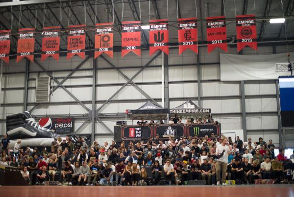 The Crowd at The Boardr Am at Montreal