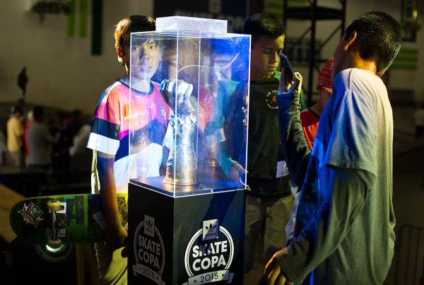 Trophy Gawkers at adidas Skate Copa Global Finals 2015