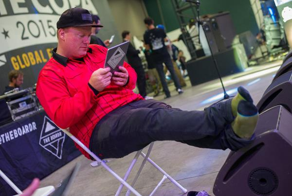 The Judging Zone at adidas Skate Copa Global Finals 2015