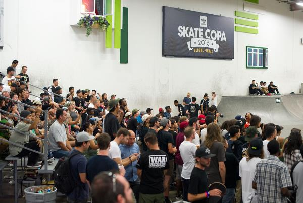 The Crowd at adidas Skate Copa Global Finals 2015