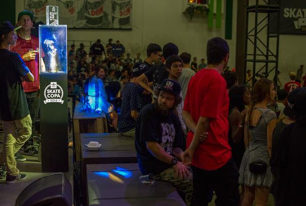 Club Scene at adidas Skate Copa Global Finals 2015