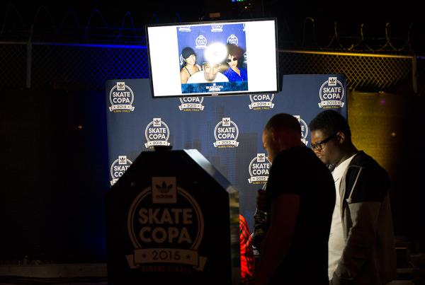 Selfies at adidas Skate Copa Global Finals 2015