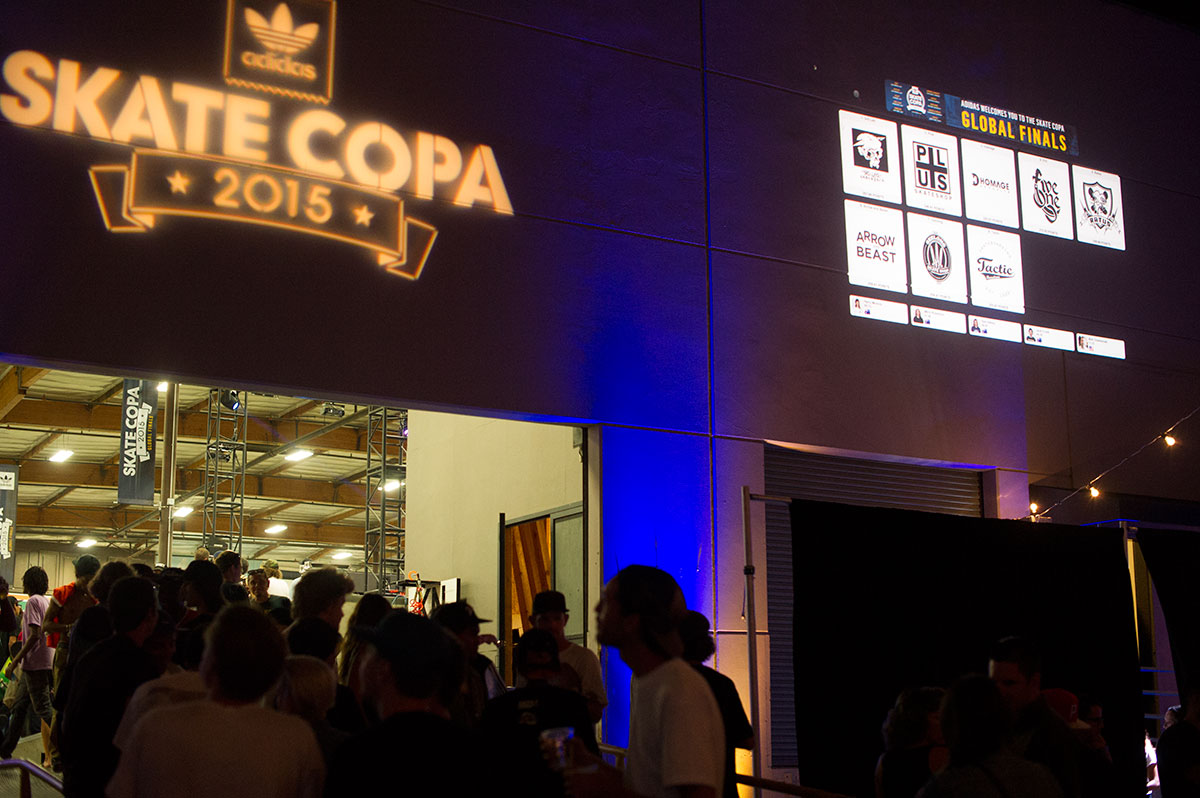 Live in Lights at adidas Skate Copa Global Finals 2015