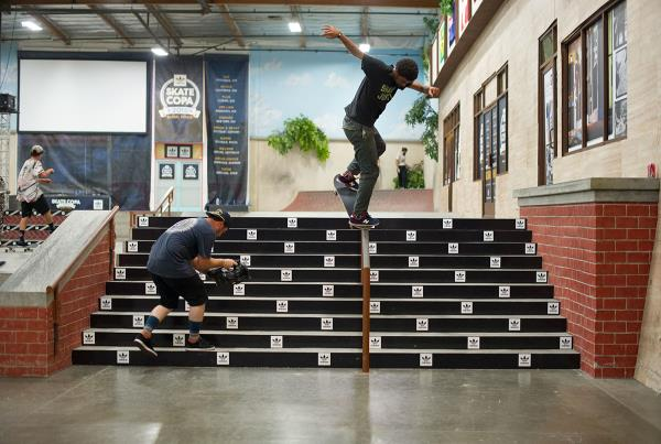 Nollie BS Overcrook at adidas Skate Copa Global Finals 2015