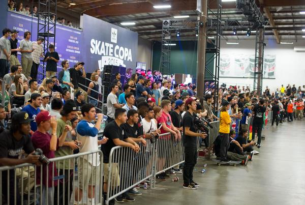 More Crowd at adidas Skate Copa Global Finals 2015