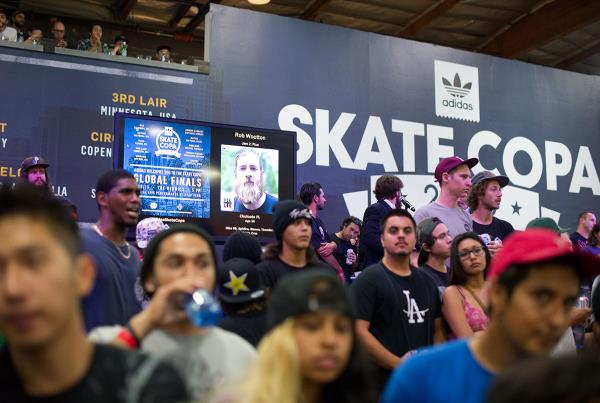 Standing Room at adidas Skate Copa Global Finals 2015