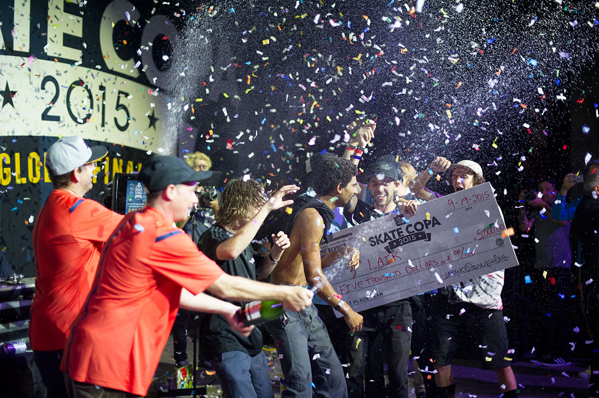 3rd Lair Wins at adidas Skate Copa Global Finals 2015