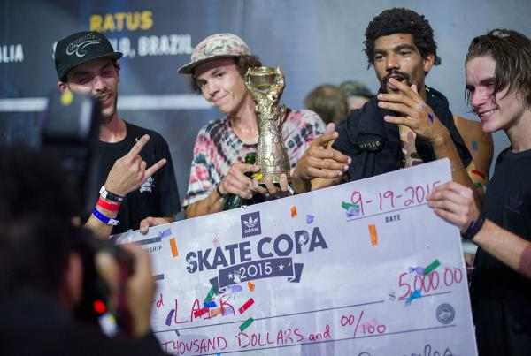 3rd Lair Trophy at adidas Skate Copa Global Finals 2015