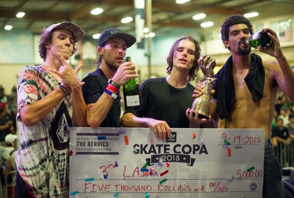 3rd Lair Crew at adidas Skate Copa Global Finals 2015