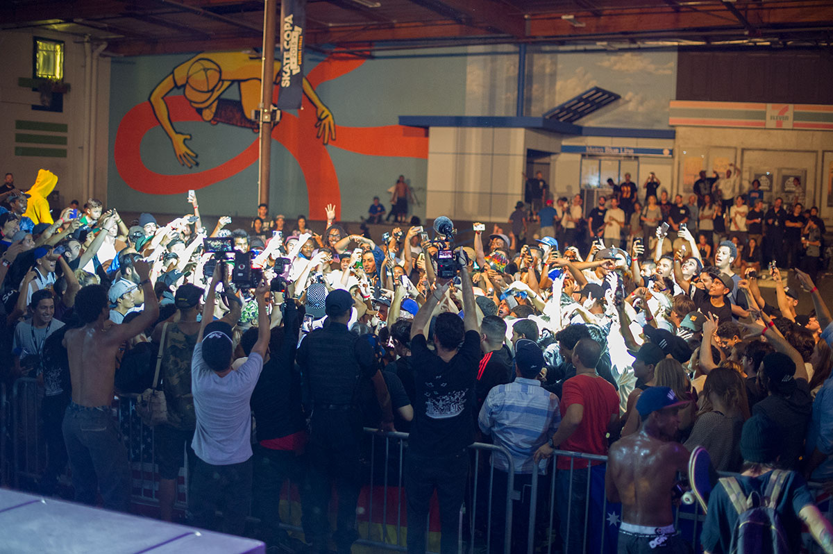 Ferg Crowd at adidas Skate Copa Global Finals 2015