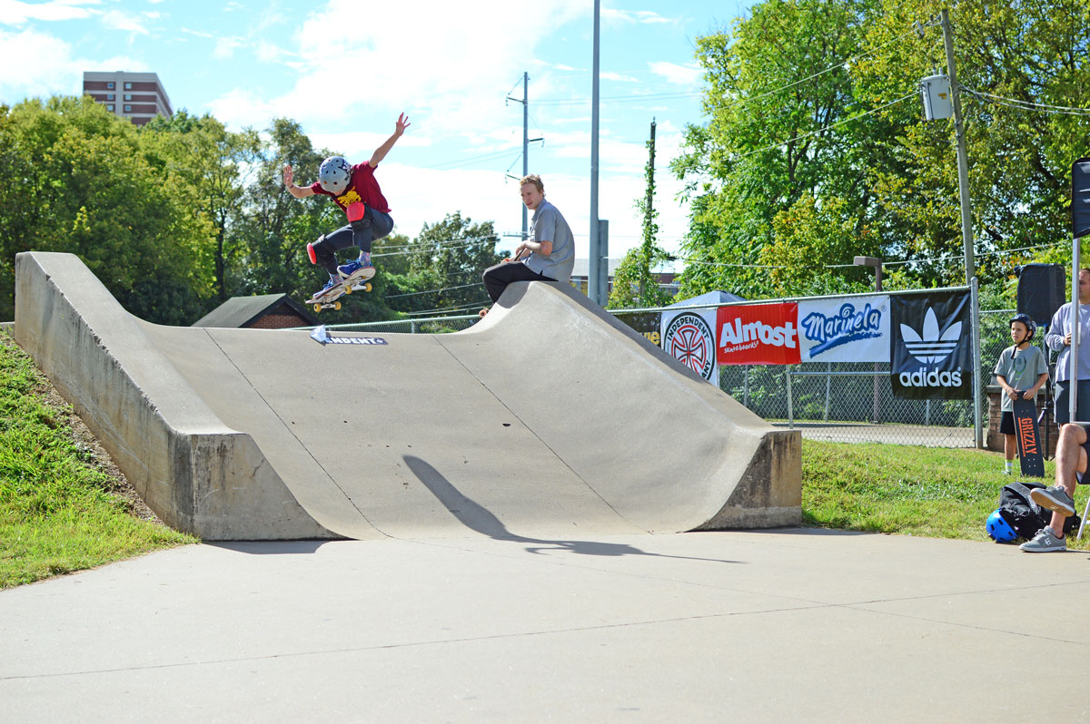 Nate Ollie at Grind for Life Knoxville