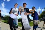 Adam Tyler, Nick Peterpaul, and Felipe Duarte took the top three spots in the Street 13 to 15 Division.