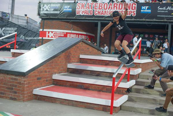 Feeble at Kimberley Diamond Cup 2015