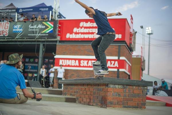 Nosegrind Backside 180 at Kimberley Diamond Cup 2015