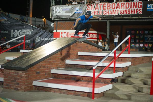 Kickflip at Kimberley Diamond Cup 2015