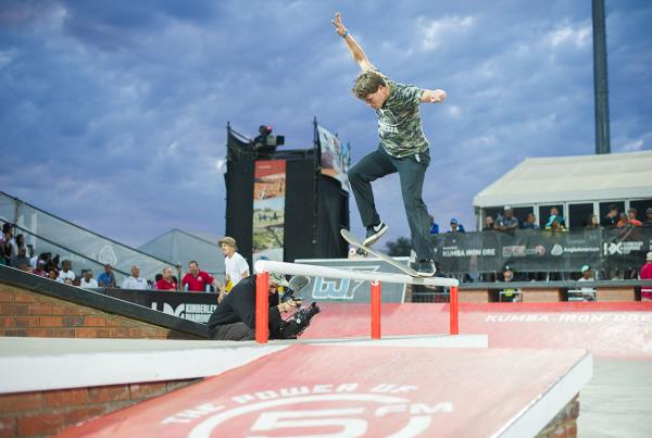Backside Flip Out at Kimberley Diamond Cup 2015