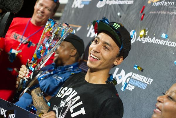 Congrats Nyjah at Kimberley Diamond Cup 2015