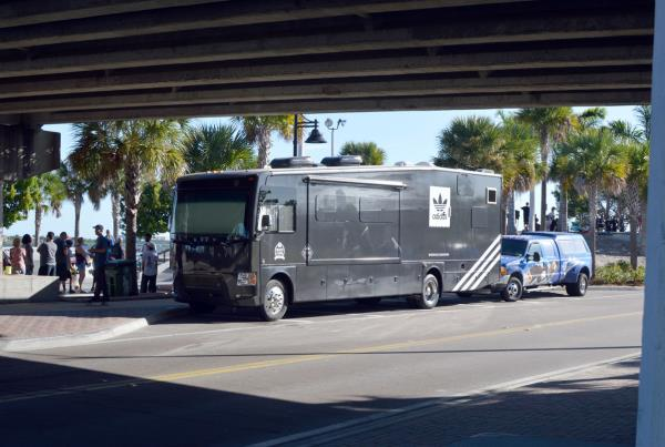 The Boardr Bus at Grind for Life at Bradenton 2015