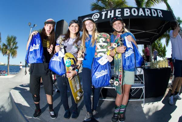 Street Girls Division at Grind for Life at Bradenton 2015