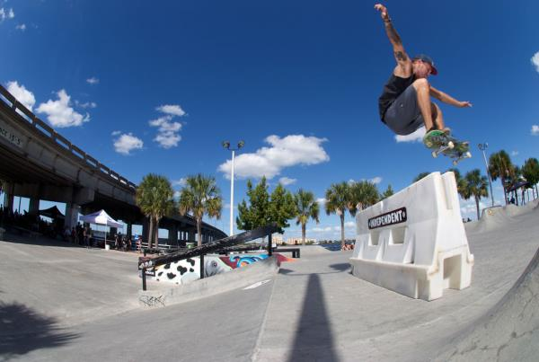 Ollie at Grind for Life at Bradenton 2015