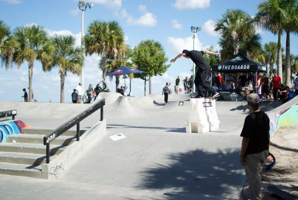 Back Lip at Grind for Life at Bradenton 2015