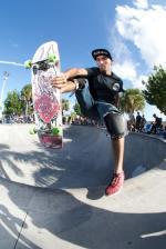 Andres Vega is possessed to skate.