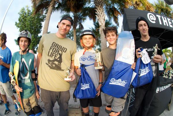 Bowl 13 to 39 at Grind for Life at Bradenton 2015