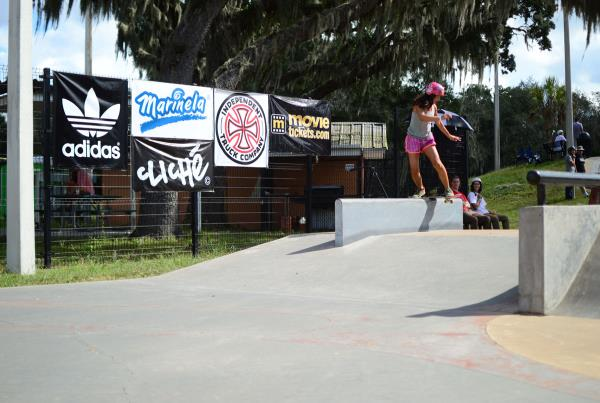 Front Boardr at Grind for Life Brandon