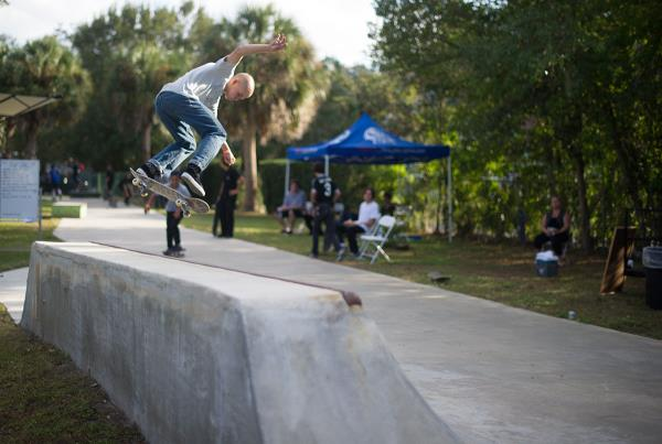 Backside Ollie at The Boardr BBQ at the Dream_Driveway