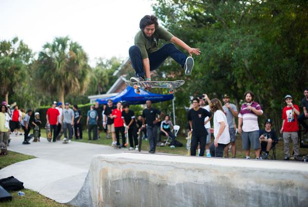 Kickflip Roast Beef at The Boardr BBQ at the Dream_Driveway