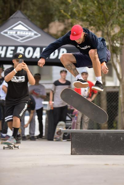 360 Flip at The Boardr BBQ at the Dream_Driveway