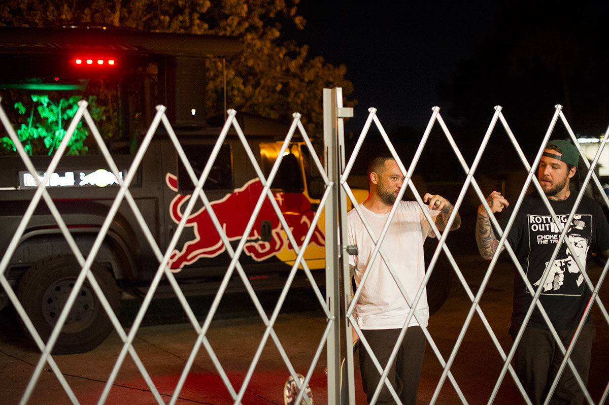 Fence Chatter at the Red Curb Rampage