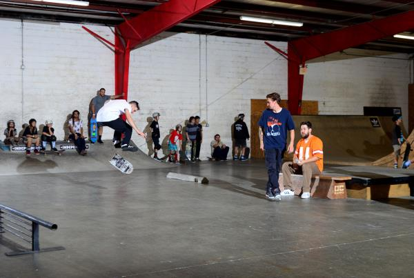 Gold at SKATE at the Grind for Life 2015 Annual Awards