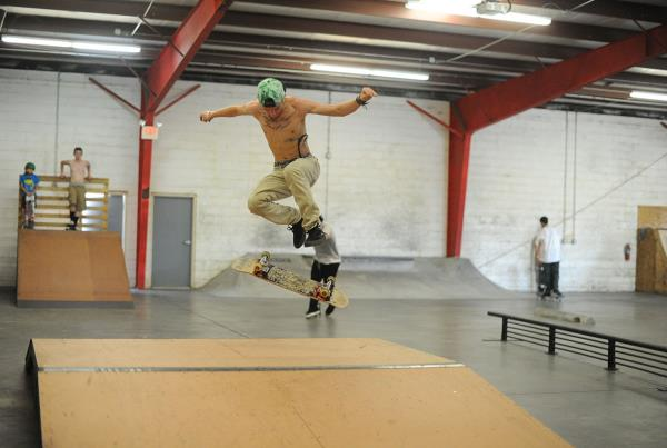 Varial Flip at Open House Saturdays