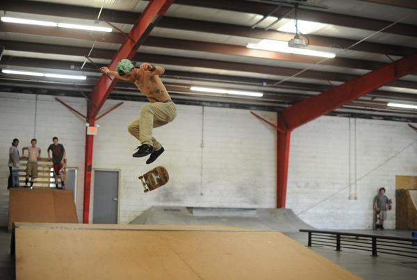 Heelflip at Open House Saturdays