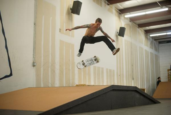 Nollie Heel at Open House Saturdays