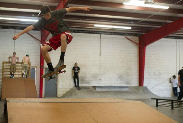 Basic Ollie at Open House Saturdays