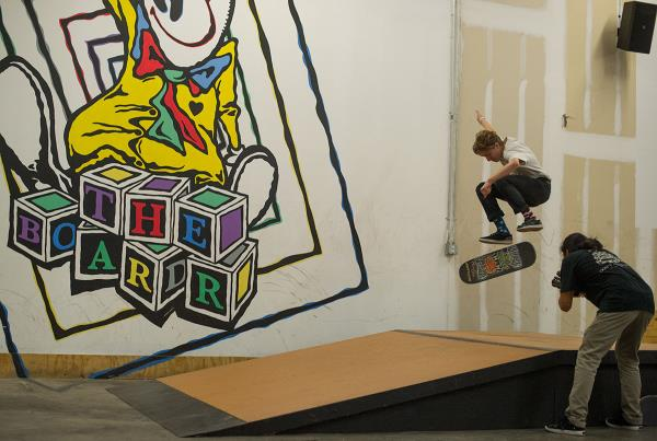 Frontside Flipping into 2016 at Open House Saturdays
