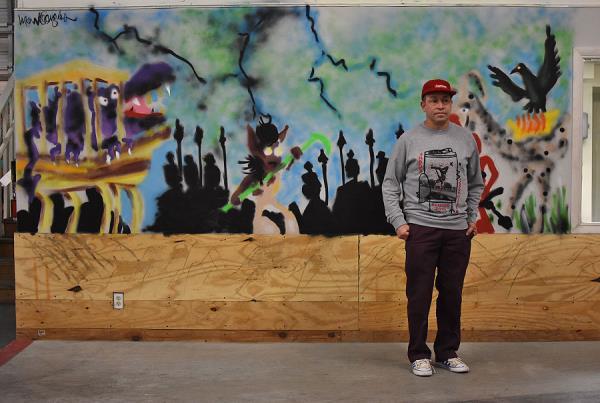 Gonz Storage Space Gonz Mural