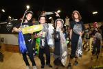 Jonah Clark, Dane Dowding, and Alex Loftus took home the top three spots in the Street 10 to 12.