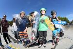 Travis Miller, Brandon Delgado, and Logan Radd took home the top three spots in the Street 9 and Under Division.