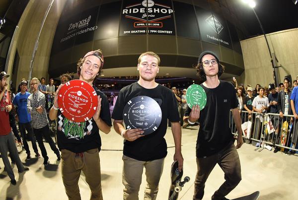 Zappos Rideshop - Winners