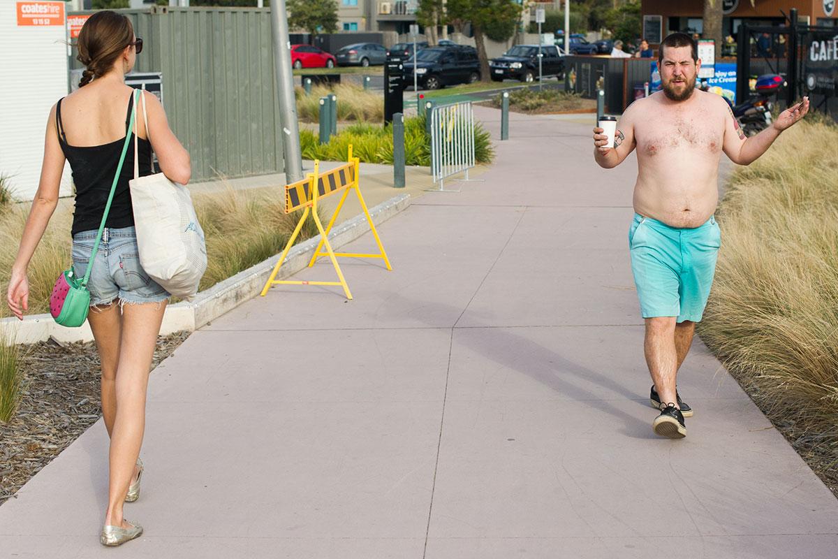 Vans Pro Skate Park Series Melbourne - Shirtless American