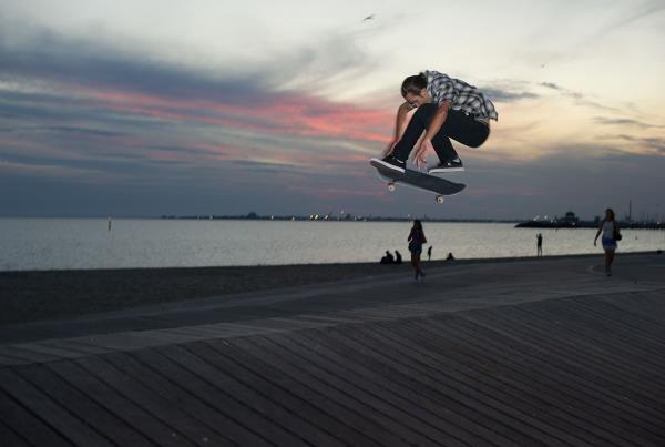 Vans Pro Skate Park Series Melbourne - FS Shuv