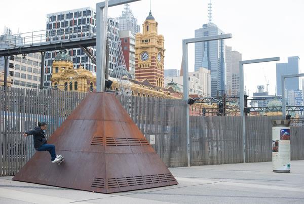 Vans Pro Skate Park Series Melbourne - Kickturns