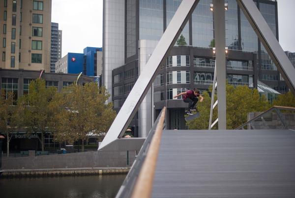 Vans Pro Skate Park Series Melbourne - 360 Flip Bridge