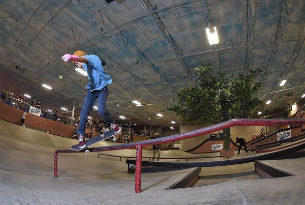 The Boardr Am at Phoenix - Back Lip