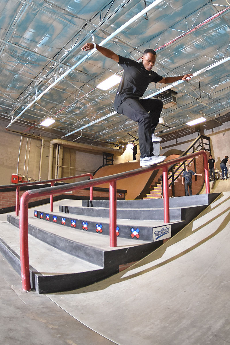 The Boardr Am at Phoenix - Front Crook